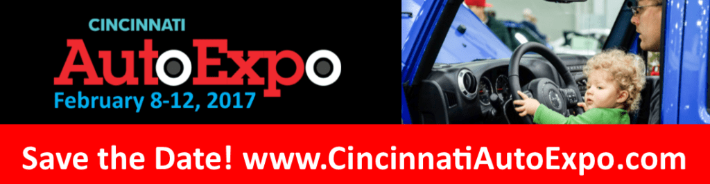 Save the date! Cincinnati Auto Expo, February 8-12, 2017!